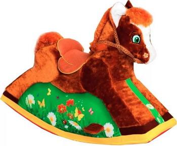 Качалка Paremo Лошадка PCR 816 качалка yoyo rock лошадка плюшевая музыкальная серый 4шт в кор gs2027