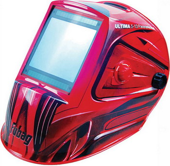 Маска FUBAG ULTIMA 5-13 Panoramic Red маска сварочная fubag ultima 5 13 panoramic red