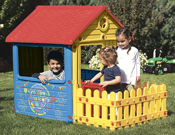 Детский игровой домик Dolu DL_3013 игровые домики dolu игровой домик для улицы городской дом