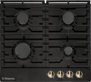 Встраиваемая газовая варочная панель Hansa BHGA 61059 Vintage газовая варочная панель hansa bhgw63030 bhgw63030