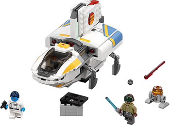Конструктор Lego Star Wars Фантом 75170-L