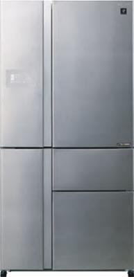 Многокамерный холодильник Sharp SJPX 99 FSL kitchenaid миксер планетарный artisan 4 8л серебристый по контуру 5ksm125ecu kitchenaid
