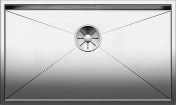Кухонная мойка BLANCO ZEROX 700-IF нерж. сталь зеркальная полировка 521592 franke kbx 110 34 нерж сталь зеркальная