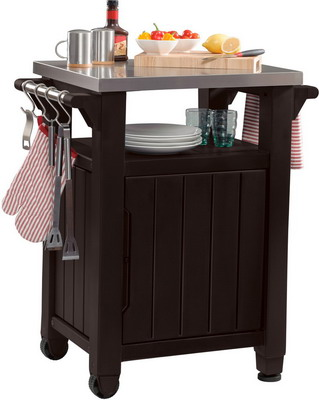 Стол для гриля Keter UNITY 93 L коричневый 17202663 стол portland keter