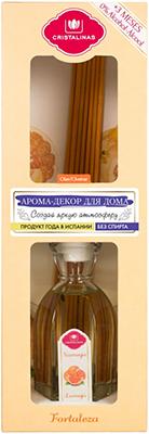 Арома-диффузор CRISTALINAS Mikado для жилых помещений с ароматом апельсина и помелы 90 мл