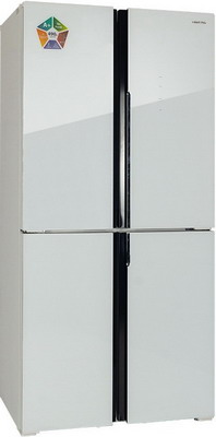 Многокамерный холодильник Hiberg RFQ-490 DX NFGW холодильник hiberg rfq 490dx nfxq