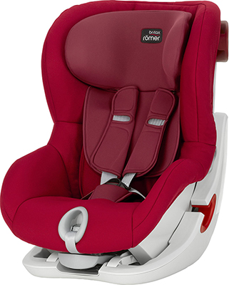 Автокресло Britax Roemer King II Flame Red Trendline 2000022577 автокресло britax roemer evolva plus группа 1 2 3 flame red 2000022876