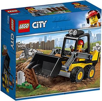 Конструктор Lego Строительный погрузчик 60219 City Great Vehicles игрушка drift портальный погрузчик строительный 70397