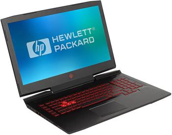 Ноутбук HP Omen 17-an 017 ur  i5-7300 HQ (Shadow black) цена