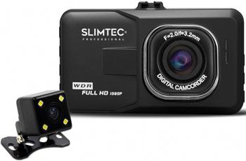 Автомобильный видеорегистратор SLIMTEC Dual F2