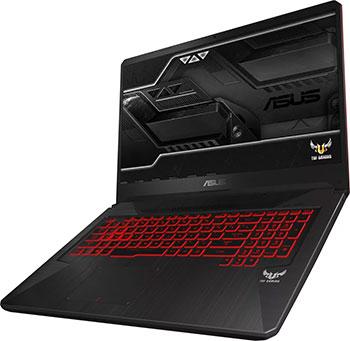Ноутбук ASUS ROG FX 705 DY-AU 017 T (90 NR 0192-M 01410) черный