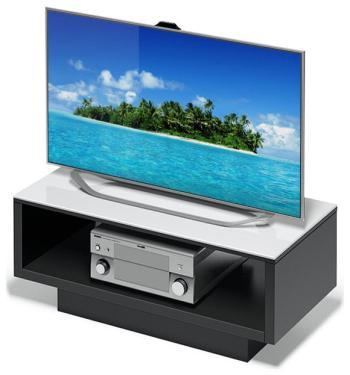 Подставка Alteza Albero TV-3790 белое стекло