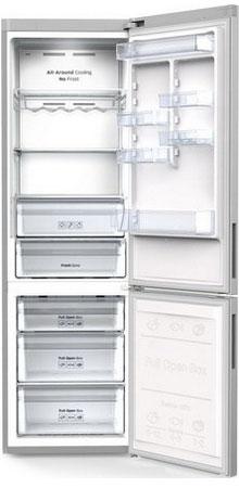 Двухкамерный холодильник Samsung RB 37 J 5240 SA