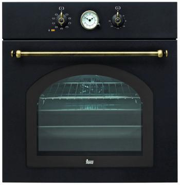 Встраиваемый электрический духовой шкаф Teka HR 750 ANTHRACITE B встраиваемый газовый духовой шкаф teka hgr 650 anthracite