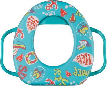 Сиденье для унитаза Happy Baby SAFARY 34016 Aquamarine накладка на унитаз happy baby safary в ассортименте