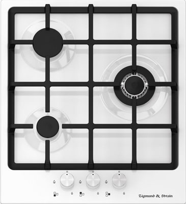 Встраиваемая газовая варочная панель Zigmund amp Shtain GN 58.451 W кухонная мойка zigmund amp shtain kaskade 800 швейцарский шоколад