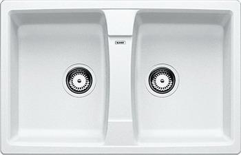 Кухонная мойка BLANCO LEXA 8 SILGRANIT белый мойка lexa 8 coffee 515063 blanco