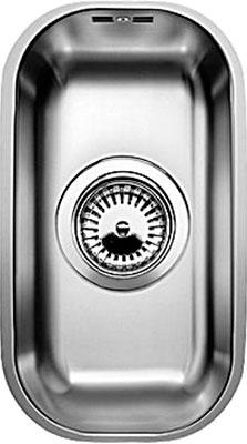 Кухонная мойка BLANCO SUPRA 180-U нерж.сталь полированная кухонная мойка blanco supra 180 u нерж сталь полированная с корзинчатым вентилем с коландером