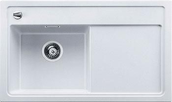 Кухонная мойка BLANCO ZENAR 45 S белый с клапаном-автоматом чаша слева blanco dalago 5 жасмин с клапаном автоматом 518525