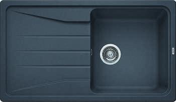 Кухонная мойка BLANCO SONA 5S SILGRANIT темная скала кухонная мойка blanco sona 5s silgranit шампань