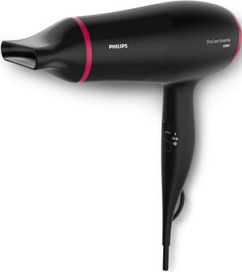 Фен Philips BHD 029/00 DryCare Essential черный/красный philips стайлер philips hp8605 00 simplysalon curl
