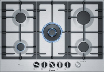 Встраиваемая газовая варочная панель Bosch PCQ 7 A5 M 90 R bosch pcq 715 m 90 e
