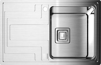 Кухонная мойка OMOIKIRI Mizu 78-1-R (4993003) new кухонная мойка ukinox gal 737 gw r