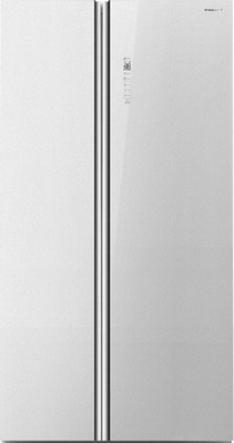 Холодильник Side by Side Kraft KF-HC 2536 GLWG холодильник side by side samsung rs552nrua9m