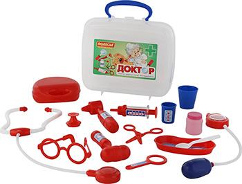 Набор Полесье Доктор №3 (в чемоданчике) швейный набор sewing kit в чемоданчике