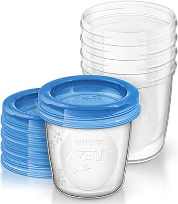 Набор контейнеров для хранения молока Philips Avent SCF 619/05