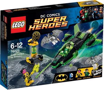 Конструктор Lego SUPER HEROES Зеленый фонарь против Синестро 76025