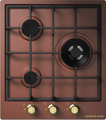Встраиваемая газовая варочная панель Zigmund amp Shtain GN 218.451 M кухонная мойка zigmund amp shtain kaskade 800 швейцарский шоколад
