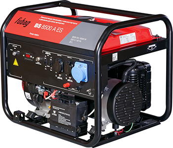 Электростанция FUBAG BS 8500 A ES 838253 бензиновая электростанция с электростартером и коннектором автоматики fubag bs 8500 a es 838253