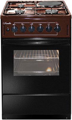 Комбинированная плита Лысьва ЭГ 1/3г01-2у коричневая цена