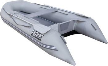Надувная лодка HDX CLASSIC 240 P/L серая 67860 лодочный мотор 2 х тактный hdx t 25 fws
