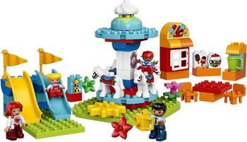 Конструктор Lego DUPLO Town: Семейный парк аттракционов 10841