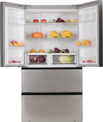 Многокамерный холодильник Ascoli ACDI 480 W cтальной цена