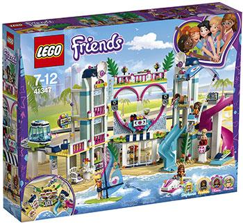 Конструктор Lego Курорт Хартлейк-Сити 41347 lego друзей series 6 до 12 лет сердце лейк сити йогурт мороженое магазин 41320 lego детские строительные блоки игрушки