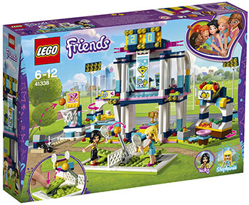 Конструктор Lego Спортивная арена для Стефани LEGO Friends 41338 lego друзей series 6 до 12 лет сердце лейк сити йогурт мороженое магазин 41320 lego детские строительные блоки игрушки