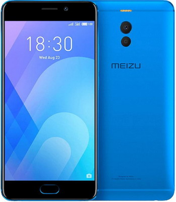 Смартфон Meizu M6 Note 32 GB синий смартфон meizu m6 note m721h 32gb
