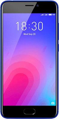 Мобильный телефон Meizu M6 32 Gb синий motorola nexus 6 32 gb unlocked