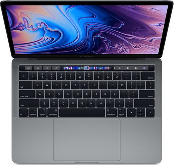 Ноутбук Apple MacBook Pro 13 with Touch Bar (Z0V 8000 LW) серый космос ноутбук apple macbook pro 15 4