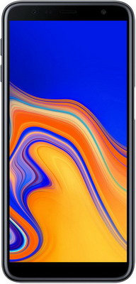 Смартфон Samsung Galaxy J6+ (2018) SM-J 610 F черный смартфон samsung galaxy a8 2018 black sm a530f exynos 7885 2 2 4gb 32gb 5 6 2220x1080 16mp 16mp 8mp 4g lte 2sim android 7 1 sm a530fzkdser