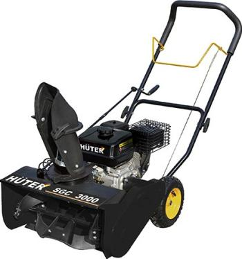 Снегоуборочная машина Huter SGC 3000 70/7/9 мотокультиватор huter gmc 5 0 70 5 7
