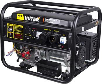 Электрический генератор и электростанция Huter DY 8000 LXA авр huter для бензогенератора dy6500lx 64 1 20