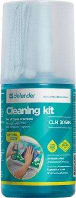 Набор для очистки Defender CLN 30598 Optima аксессуар acme cl35 набор для очистки led lcd plasma экранов