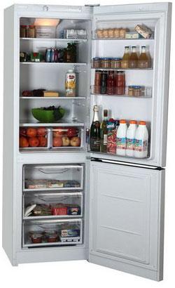 Двухкамерный холодильник Indesit DF 4180 W вытяжка indesit islk 56 as w белый islk 56 as w
