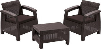Комплект мебели Keter Corfu weekend 17197786 стол keter futura 17197868