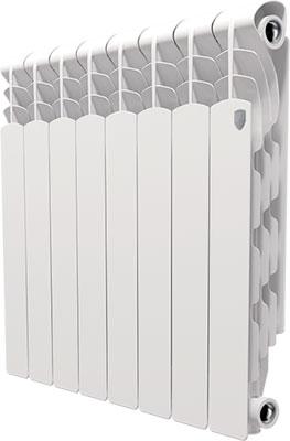 Водяной радиатор отопления Royal Thermo Revolution 500 - 8 секц. радиатор royal thermo revolution 500 6 секций