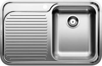 Кухонная мойка BLANCO CLASSIC 4S-IF нерж. сталь зеркальная полировка чаша справа  blanco lexa 6 s чаша справа жемчужный